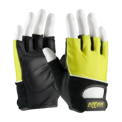 #122-AV70 PIP Maximum Safety® Ergonomic Lifting Gloves with Reinforced Padded Leather Palm