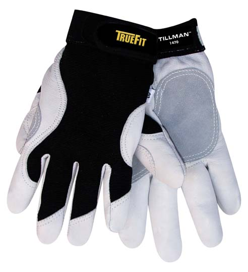 Tillman™ 1470 TrueFit™ Goatskin Leather Work Gloves