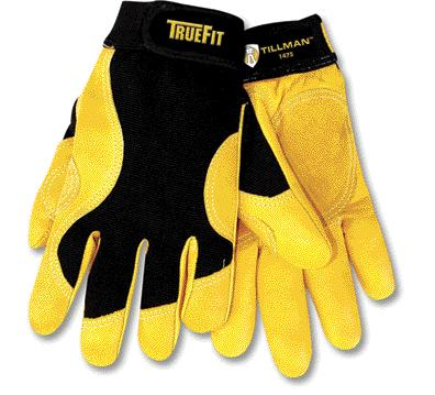 Tillman™ #1475 TrueFit™ Cowhide Leather Work Gloves