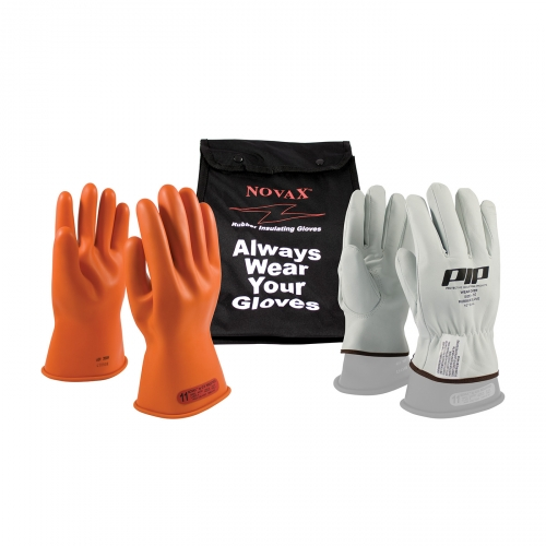 PIP Novax® Class 0 Electrical Safety 11` Glove Kit