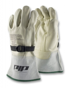 148-4000 PIP® Novax™ Electrical Safety Leather Glove Protector w/ Gauntlet Cuff
