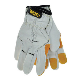 1499 Tillman™ TrueFit™ Full Leather and Kevlar Handling Gloves w/ TPR Impact Pads