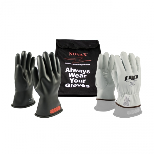 PIP® Novax® Class 0 Electrical Safety 11` Glove Kit