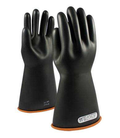 155-1016 PIP Novax® Electrical Safety Class 3 Rubber Insulating Work Gloves