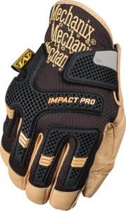 CG30-75 Mechanix Wear® CG Impact Pro Full Anti-Vibration Work Gloves, impact-absorbing PORON® XRD®
