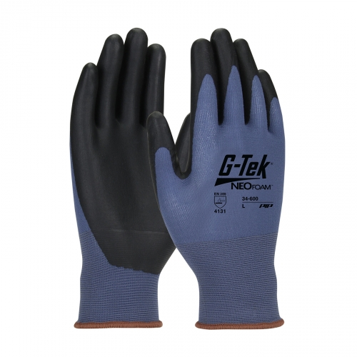 #34-600 PIP® G-Tek® Neofoam Coated Seamless Nylon Knit Gloves