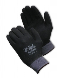 MaxiFlex® Ultimate™ Seamless Knit Nylon / Lycra Glove with Nitrile Coated MicroFoam Grip on Full Hand