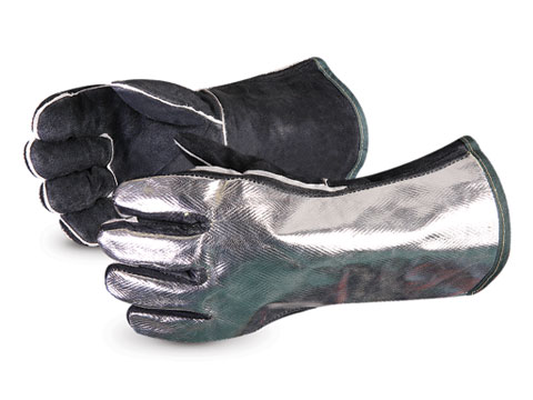Superior Glove® Endura® Aluminized Back Welding Glove #505ALB
