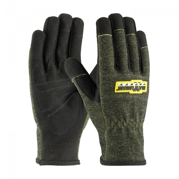 PIP® Maximum Safety® FR Treated Synthetic Leather Utility Gloves #73-1703