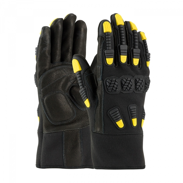 PIP® Maximum Safety® FR Treated Glove w/ Aramid Back & TPR Protection #73-2000