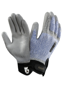 97001 Ansell® ActivArmr™ Electrician Dyneema® Coated Cut-Resistant Work Glove, cut level 2