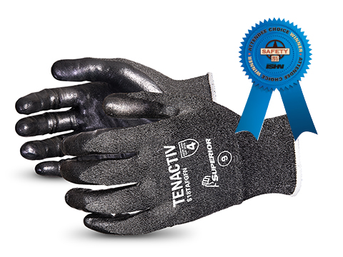 Image of Tenactiv Touchscreen Compatible Work Safety Gloves