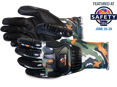 Superior Glove® Dexterity® Camo Nylon Gloves w/ Micropore Grip