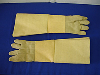 243-PBI-22 Chicago Protective Apparel Polybenzamidazole (PBI) 22-oz High Heat Gloves- 23` w/ Protection up to 1500 Degrees