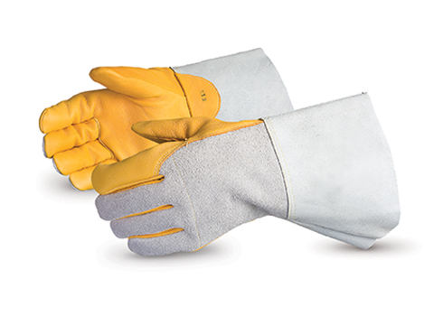#375GDFNL Superior Glove® Endura® Deluxe Deerskin Welding Gloves