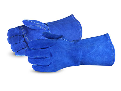 #505BUWS Superior® Glove Endura® Blue Welding Gloves