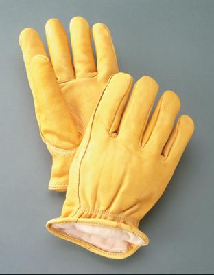 MDS Economy Premium Deerskin Driver's Work Gloves w/ Thinsulate™ Insulation