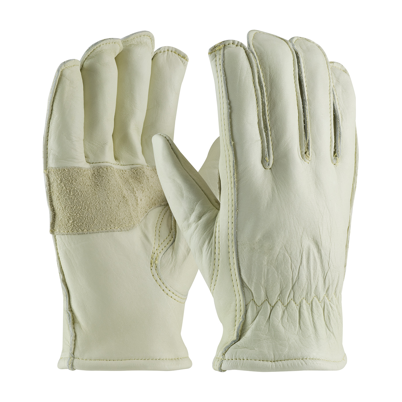 Premium Cowhide Fleece Lined Leather Gloves Insulated