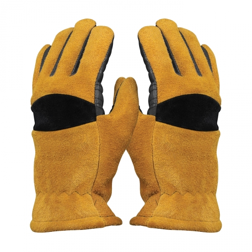 #910-P735 PIP Smokescreen™ Structural Firefighting Glove with Split Cowhide Leather Palm, Elk Skin Back and Kevlar® Stitching
