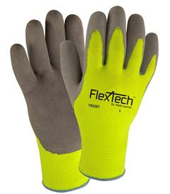 9239T Wells Lamont FlexTech™ Lined Hi-Vis Coated Work Gloves