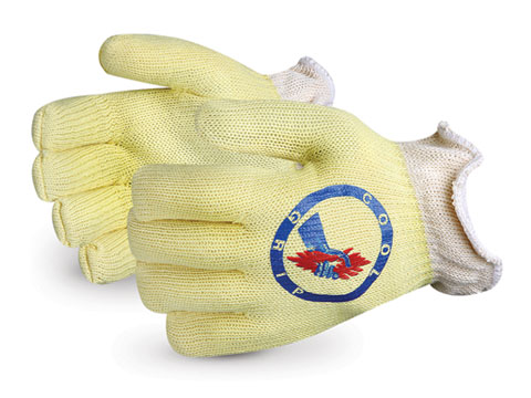 Superior Glove® Cool Grip® Kevlar® Gloves w/ Aluminized HeatStop™ Liner