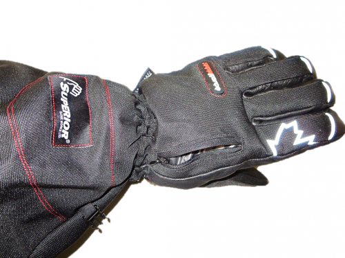 SnowForce™ Deluxe Buffalo Leather Palm Winter Gloves
