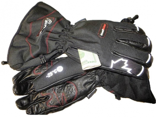 Superior® SnowForce™ Deluxe Buffalo Leather Palm Extreme Winter Gloves with Thinsulate