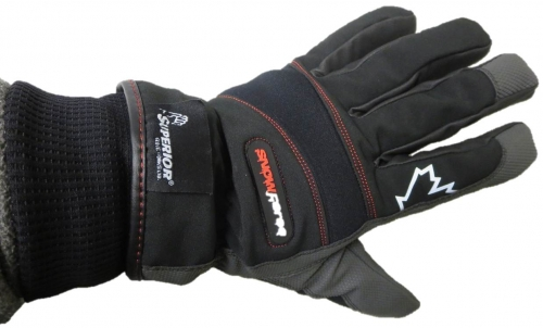 SnowForce™ Thinsulate™ Lined Winter Driver Gloves with Polyurethane Palms