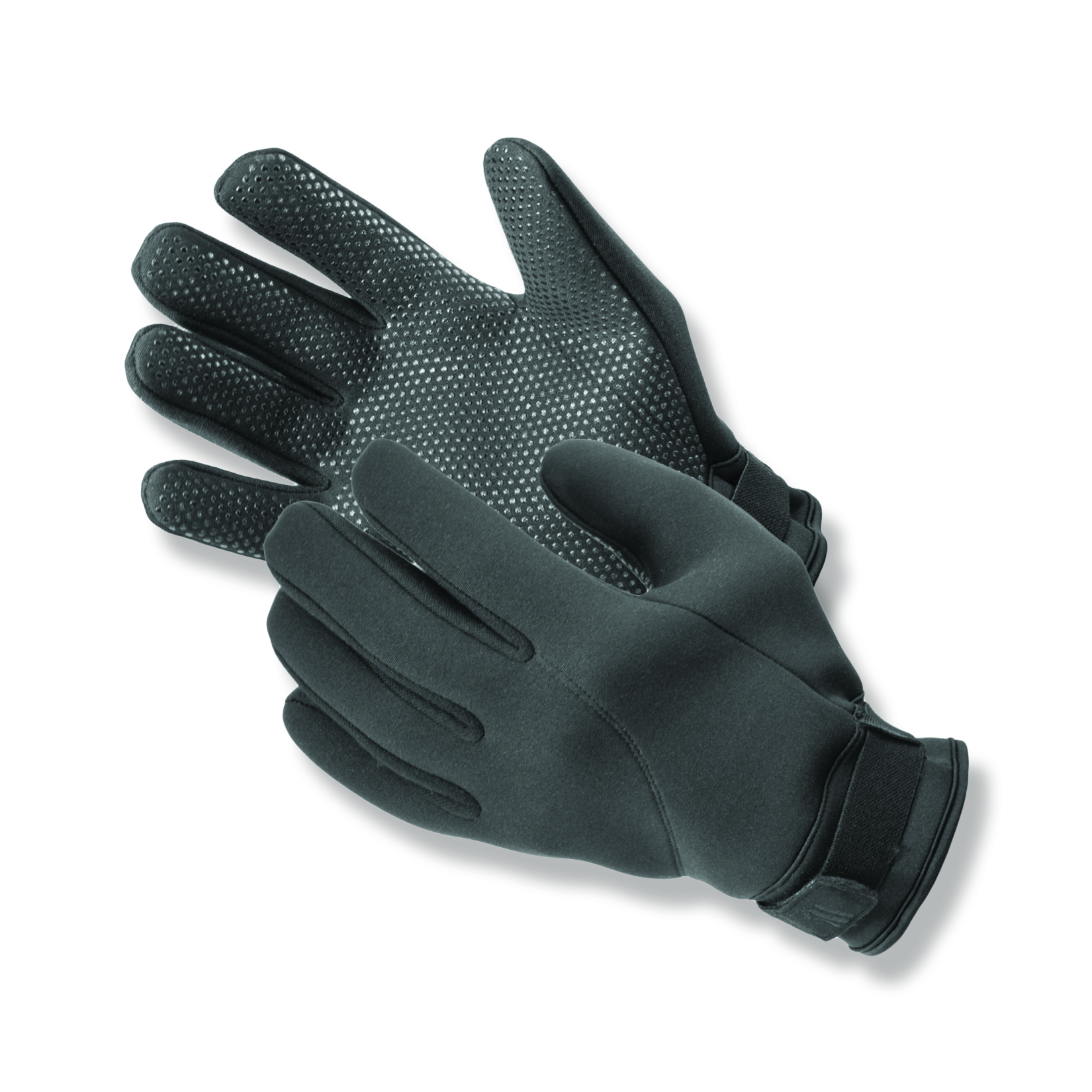 Expert™ Cold Weather Neoprene Uniform Gloves feature gripper dots on the palms