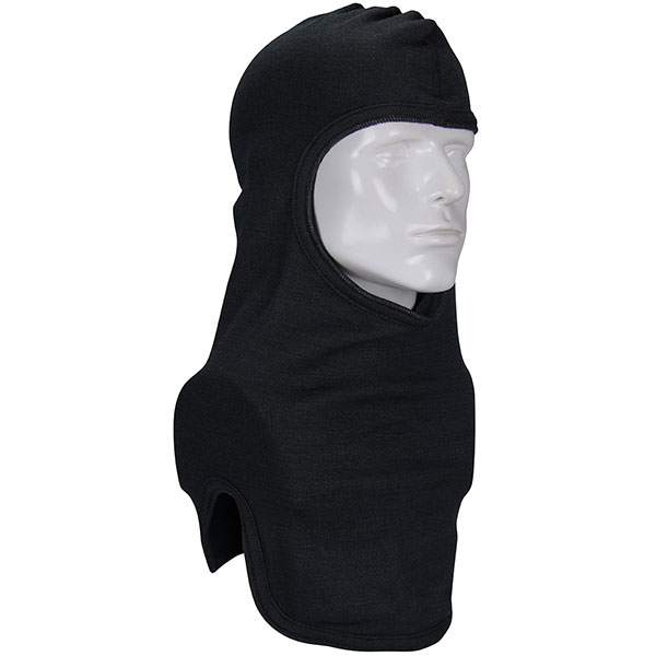#906-100NOM7BLKB PIP® Double-Layer Straight Cut Black Nomex® Hood - Full Face