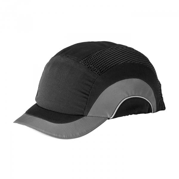 short brim baseball style bump cap insert