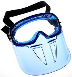 0343 Kimberly Clark Jackson Safety® MonoGoggle XTR Detachable Protective Faceshield