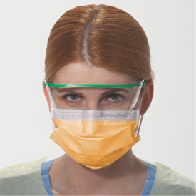 28797 Halyard  KC300 Disposable Protective Fluidshield* Fog-Free Procedure Mask