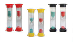 #20403 Oraline® Three Minute Brush Sand Timers
