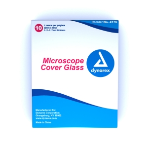 Dynarex® #4176 Standard Size Microscope Cover Glass