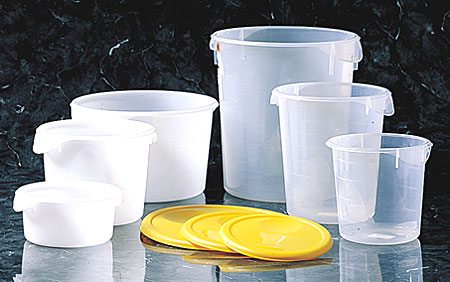 Rubbermaid® Round Storage Container 2qt, 5720 Rubbermaid® Commercial Round Storage Containers - 2 Qt
