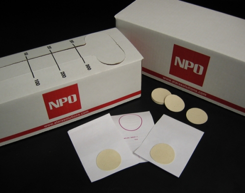 Eichrom NPO® Bulk Radiation Sampling Smears