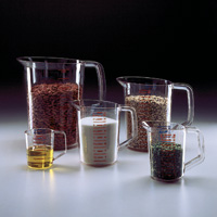 Rubbermaid® Commercial #3215 Clear Bouncer® Measuring Cup