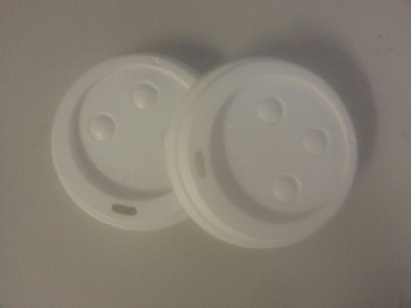 MDS Slotted Dome Lids for Hot Beverage Paper Cups
