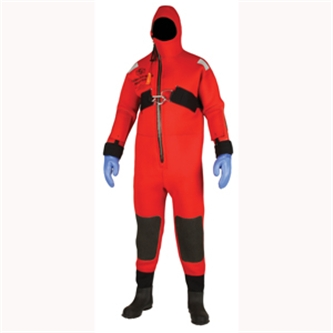 I595 Stearns® One Piece Ice Rescue Suit w/ Attached Hood & Boots