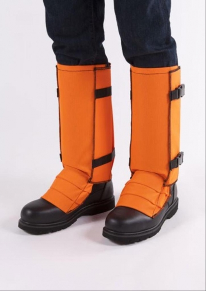 CrackShot Snake Guardz™ Protective Gaiters- Blaze Orange