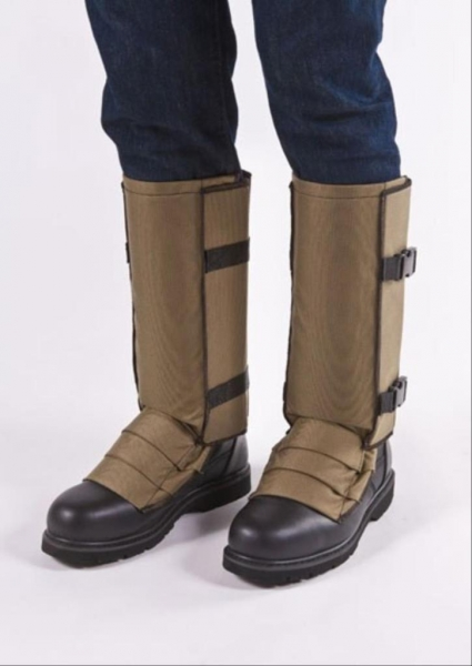 CrackShot Snake Guardz™ Protective Gaiters- Khaki Tan