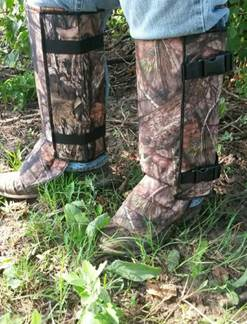 CrackShot Snake Guardz™ Protective Gaiters- Mossy Oak