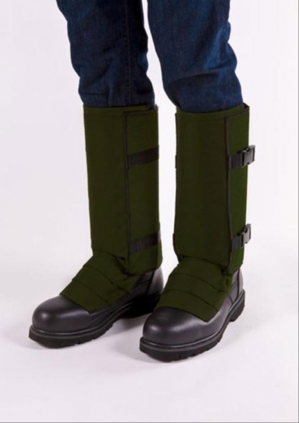 CrackShot Snake Guardz™ Protective Gaiters- Olive Green