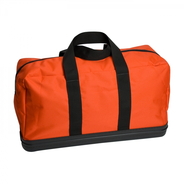 9400-52599 PIP® Water-Resistant Orange HRC Kit Hard Bottom Apparel Storage Bag