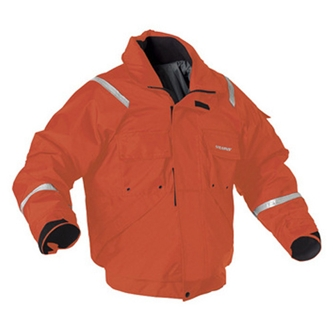 I077 Stearns® International Orange Bomber Style  Powerboat™ Flotation Jacket