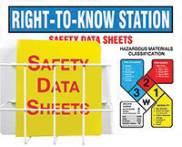Accuform Signs® Right-To-Know-NFPA Station