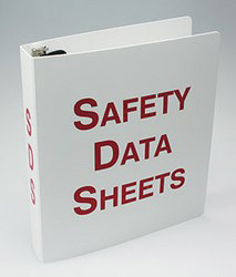 Accuform Signs® Safety Data Sheets Binder