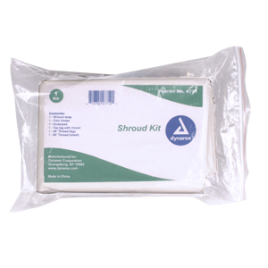#4771 Dynarex® Adult Shroud Packs/Cadaver Bag Kits