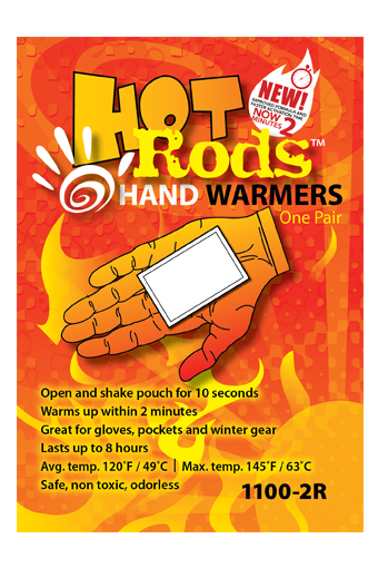 OCC1100-10R OccuNomix Regular Hot Rods™ Heat Packs Hand/Ear Warmers